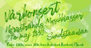 Vårkonsert @ Sundstaaulan